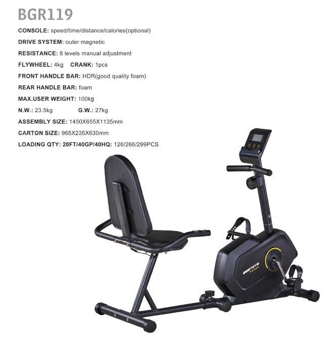 BGR119 fitness bike indoor