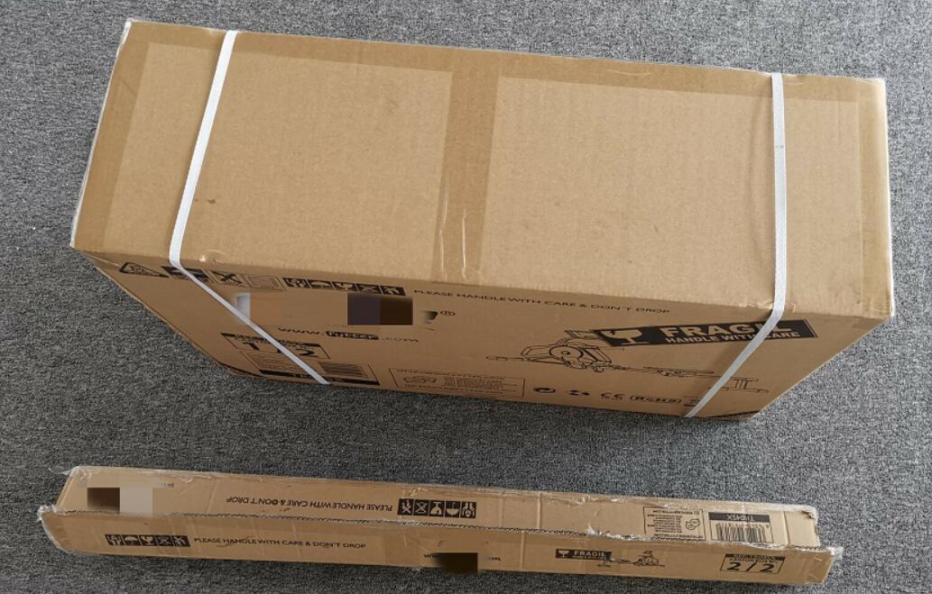 Brown package box