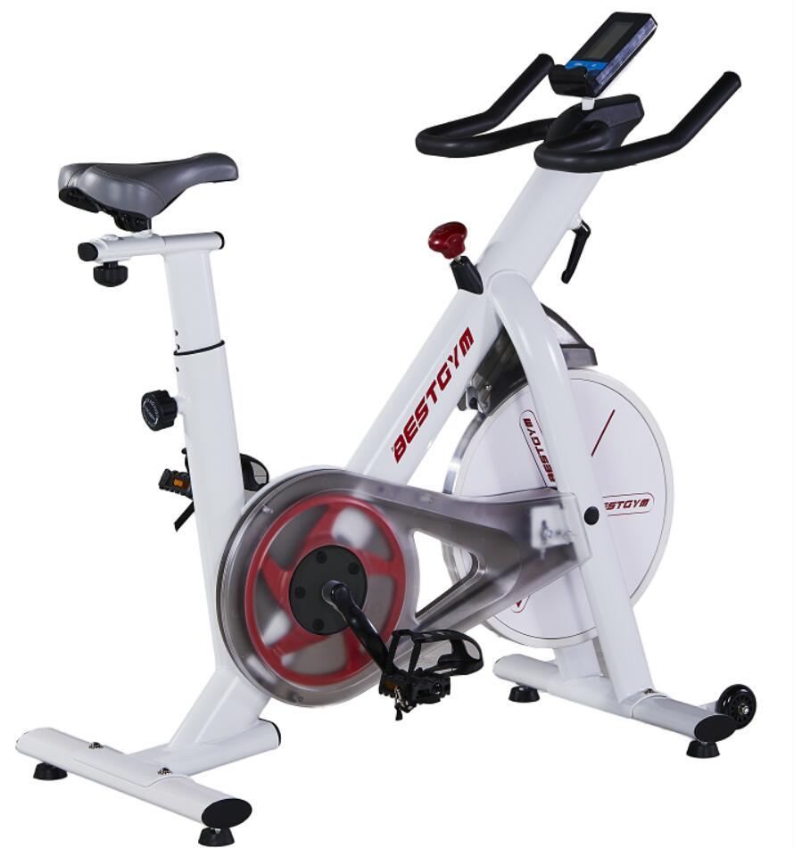 Spinninig bike white color